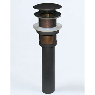 2.6 Pop Up Bathroom Sink Drain Finish: Oil Rubbed Bronze