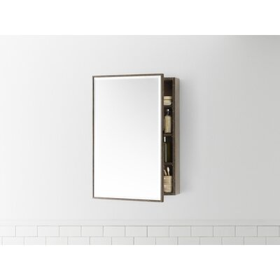Zuri 23 x 21.69 Recessed or Surface mount Medicine Cabinet