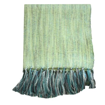 Bedford Cottage Zephyr Throw Blanket Color: Pear