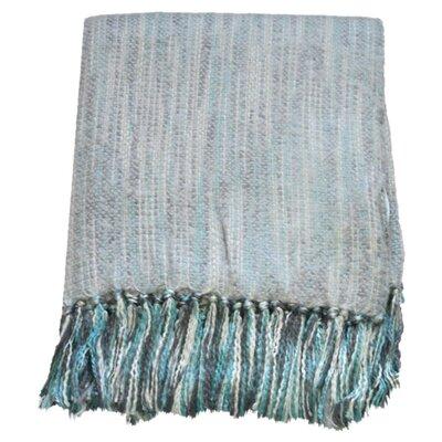 Bedford Cottage Zephyr Throw Blanket Color: Silver