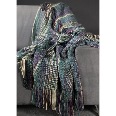 Charee Decorative Throw Blanket Color: Thistle