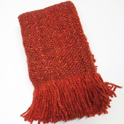 Kennebunk Campbell Decorative Throw Color: Spice