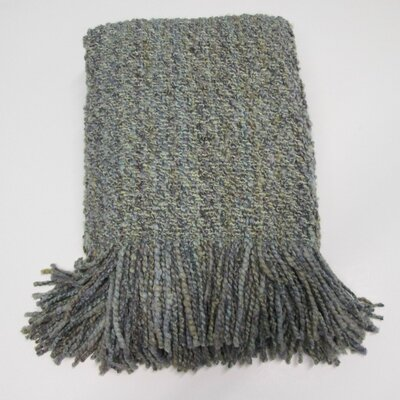Kennebunk Decorative Throw Color: Fog