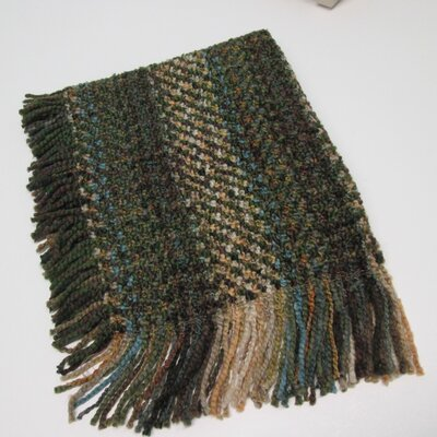 Kennebunk Woven Throw Color: Bark