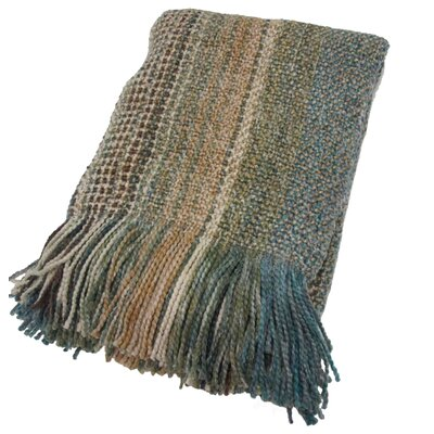 Charee Decorative Throw Blanket Color: Patina
