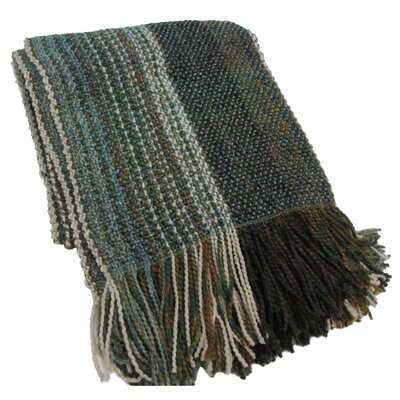 Kennebunk Decorative Throw Blanket Color: Storm