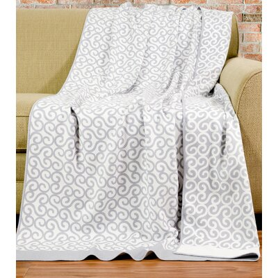 Sicily Throw Color: Dove