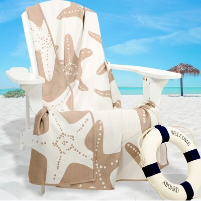 Starfish Throw Color: Sand