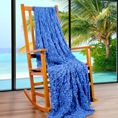 Summer Breeze Throw Color: Regatta