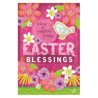 Easter Blessings Garden Flag