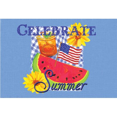 Wenner Celebrate Summer Doormat
