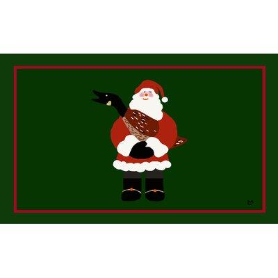 Christmas Goose Doormat