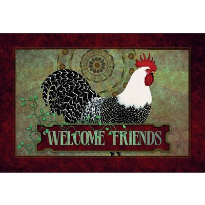 Pagnotta Welcome Friends Doormat