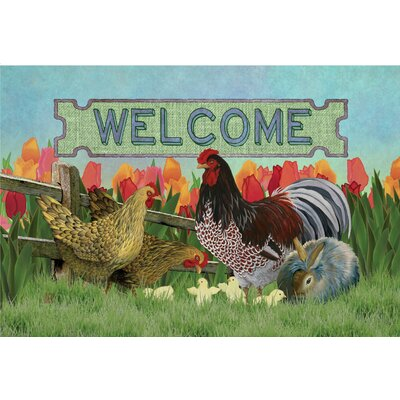Chivonna Barnyard Welcome Doormat