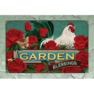 Mangan Garden Blessings Doormat