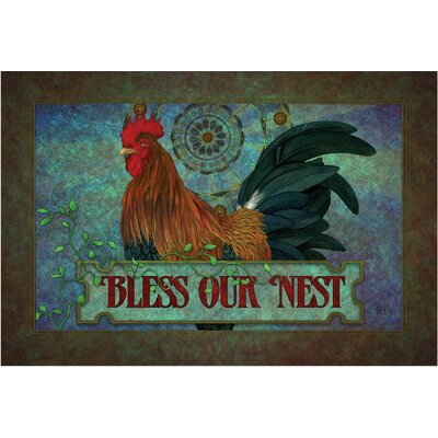 Klyszejko Bless Our Nest Doormat