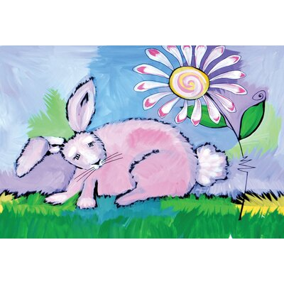 Happy Easter Needle Punched Doormat