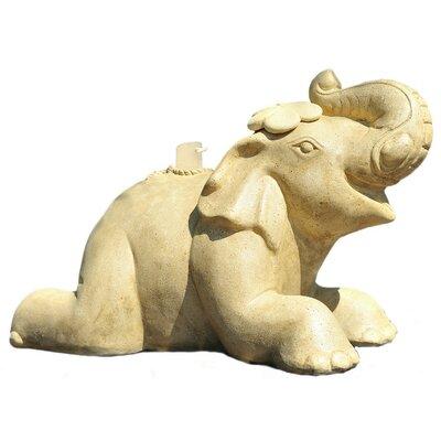 Happy Elephant Patio Umbrella Stand