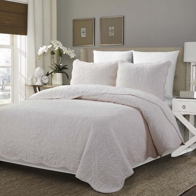 3 Piece Quilt Set Size: King