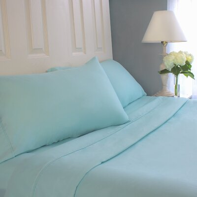 Sheet Set Size: Full, Color: Aqua