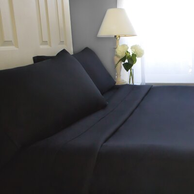 Sheet Set Size: Queen, Color: Black