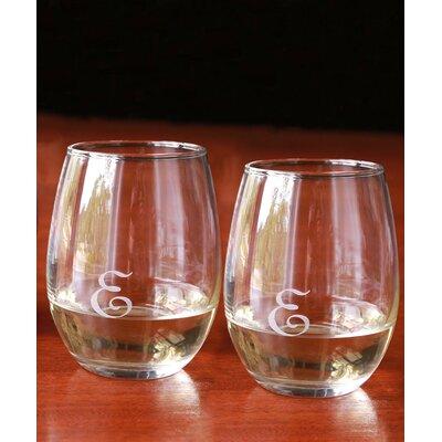 Personalized 9 oz. Wine Glass JMGW004DES08