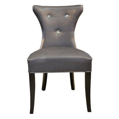 Cosmo Side Upholstered Dining Chair Upholstery Color: Gray