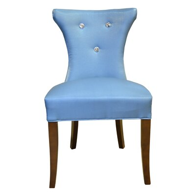 Cosmo Side Upholstered Dining Chair Upholstery Color: Blue