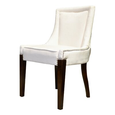 Giselle Castalina Side Chair Upholstery: Cream