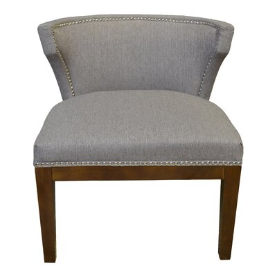 Kyra Stallion Side Chair Upholstery: Taupe