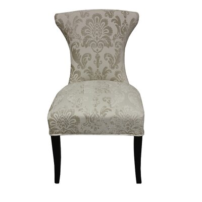 Careen Parsons Chair Upholstery: Cream
