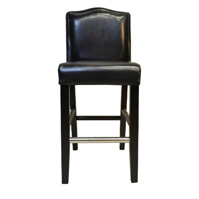 Cambria 30.5 Bar Stool Upholstery: Black