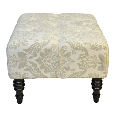 Swansea St.Honore Ottoman Upholstery: Cream