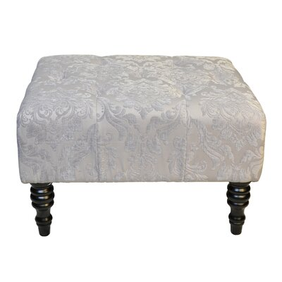 Swansea St.Honore Ottoman Upholstery: Grey