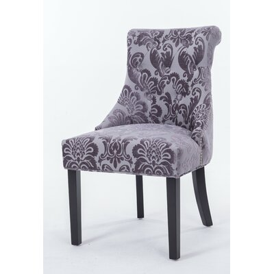 Madison Side Chair Upholstery Color: Gray