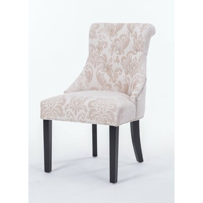 Madison Side Chair Upholstery Color: Cream