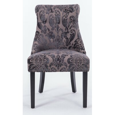 Madison Side Chair Upholstery Color: Mink