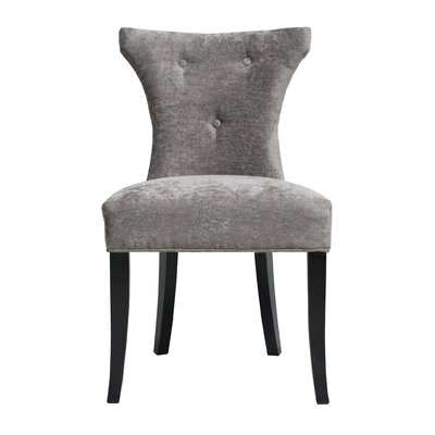 Careen Gray Side Chair