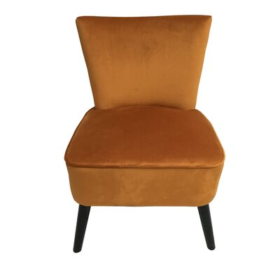 Camry Slipper Chair Upholstery: Orange