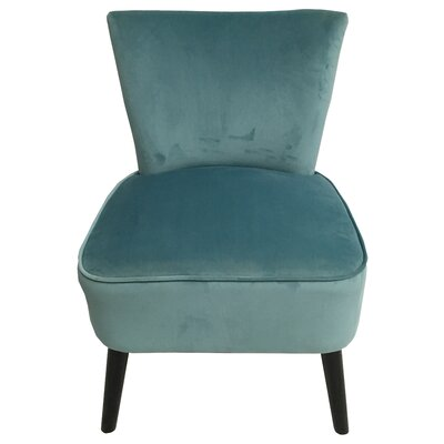 Camry Slipper Chair Upholstery: Blue
