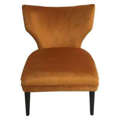 Briar Side Chair Upholstery: Orange