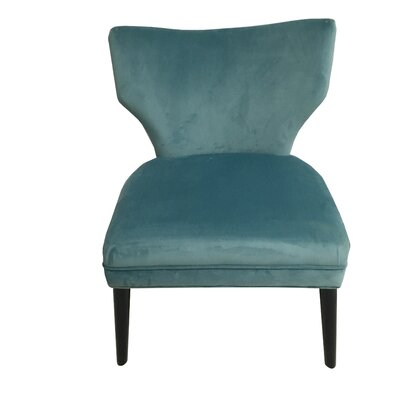 Briar Side Chair Upholstery: Blue