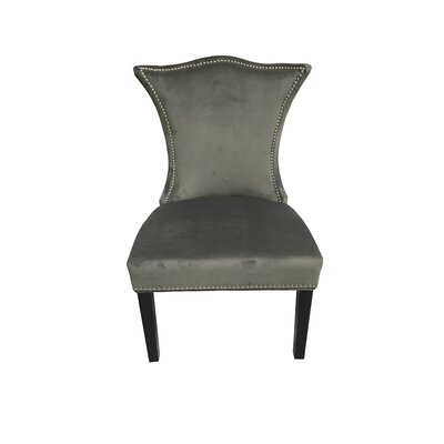 Shepherd Upholstered Dining Chair Upholstery Color: Gray