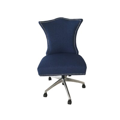 Shepherd Office Chair Color (Upholstery): Blue Depth