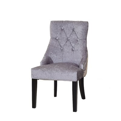 Bowler Upholstered Dining Chair Upholstery Color: Silver