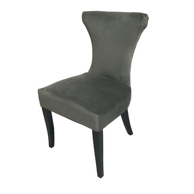 Careen Upholstered Dining Chair Upholstery Color: Gray