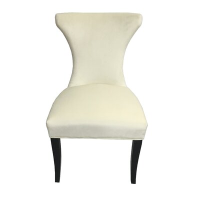 Careen Upholstered Dining Chair Upholstery Color: Cream