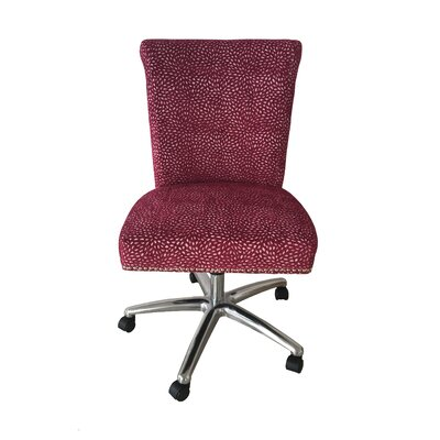 Oliverson Office Chair Color (Upholstery): Raspberry