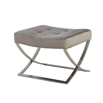 Briallen Ottoman Upholstery: Gray