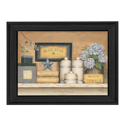 'Warm Towels' Framed Painting Print
